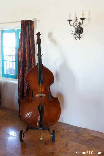 Cello by the Window