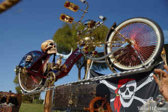 Pirate Skull Lowrider La Gente Bicycles