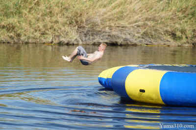 Flip off Water Trampoline