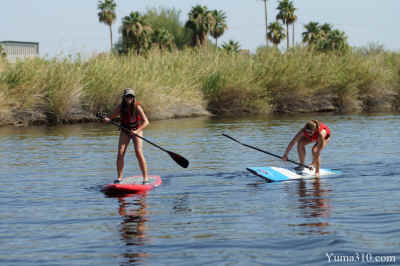 Paddleboard Battle