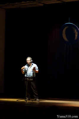 Manuel Murrieta Saldivar - Poetry on Stage