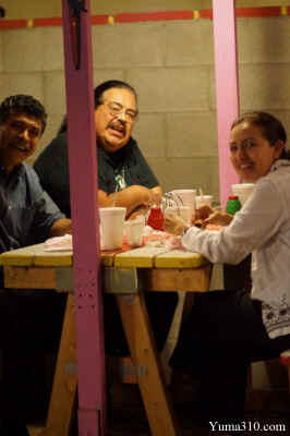 Poets gather at Somerton's roadside Rincon de Guadalajara Taco Stand.